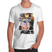 Mens Fashion Collage Printed T-Shirt