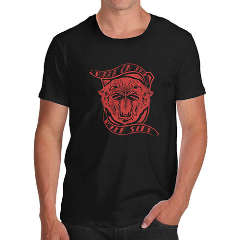 Mens Walk on the Wild Side Panther T-Shirt