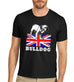 Men's British Bulldog Graphic T-Shirt