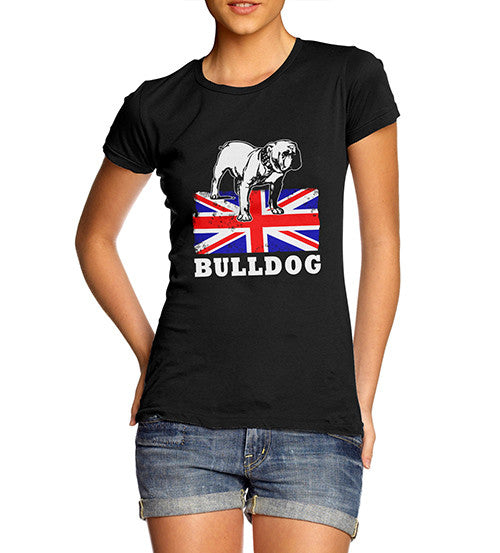 Women's British Bulldog Graphic T-Shirt