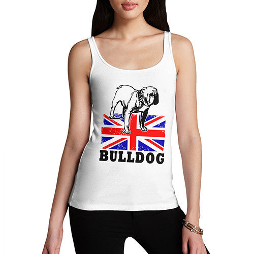 Women's British Bulldog Graphic Tank Top