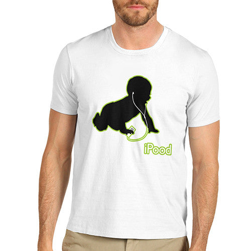 Men's Ipood Baby Funny T-Shirt