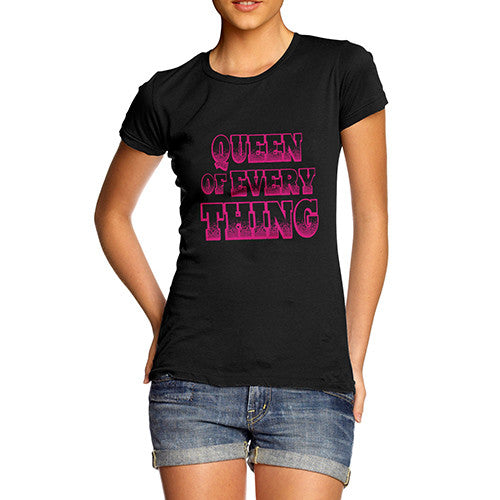 Women's Queen Of Everything Graphic T-Shirt