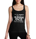 Women's Problem With The Human Race Joke Funny Tank Top