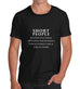 Men's Short People Funny T-Shirt