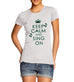 Women's Keep Calm And Sing On Graphic T-Shirt
