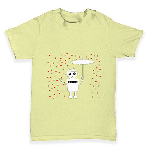 Robot Love Baby Toddler T-Shirt