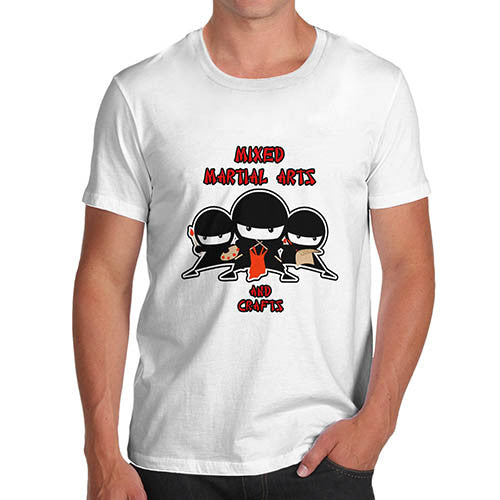 Men's Ninja Martial Arts And Crafts Funny T-Shirt