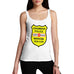 Women's Personalised Grammar Police Tank Top