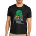 Men's Clever Girl Dinosaur Funny T-Shirt