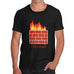 Men's Fire Wall Funny T-Shirt
