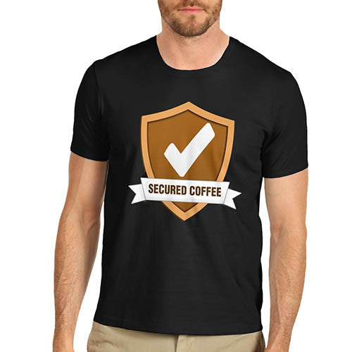 Mens Secured Coffee T-Shirt