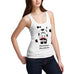 Women's Mooostache Cow Funny Tank Top