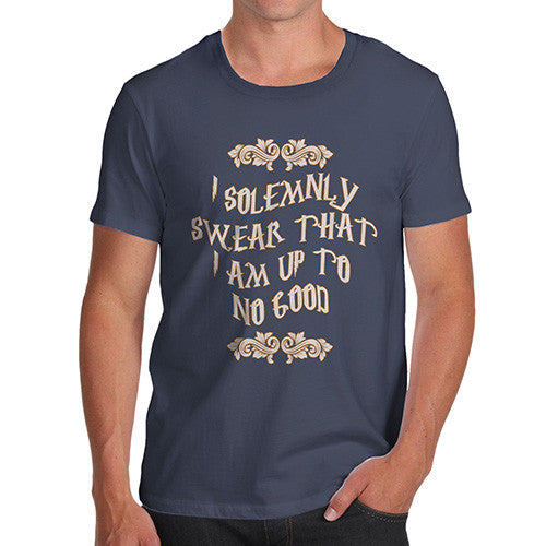 Men's Solemnly Swear Up To No Good T-Shirt