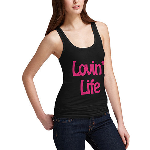 Women's Loving Life Graphic Tank Top