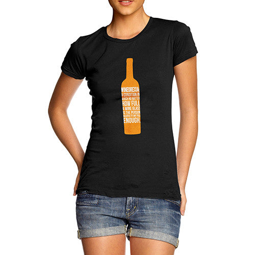 Women's Wineorexia Funny Wine Lovers T-Shirt