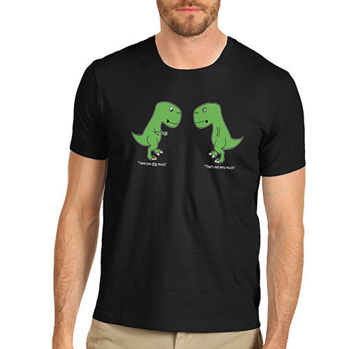 Men T-Rex I Love You This Much T-Shirt