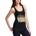 Women's Funny Grumpy Toad Tank Top