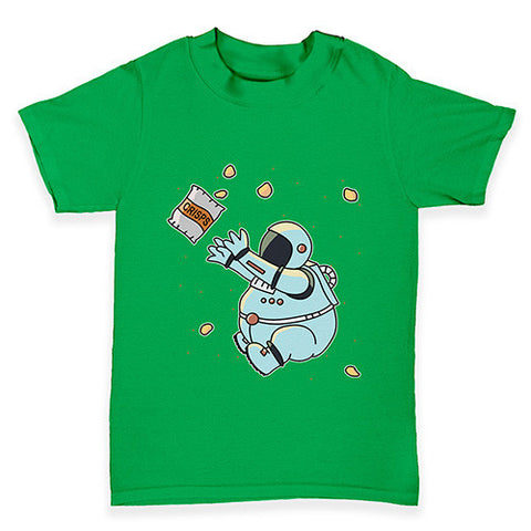 Fat Hungry Astronaut Baby Toddler T-Shirt