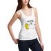 Women's Hugz Funny Cartoon Tank Top