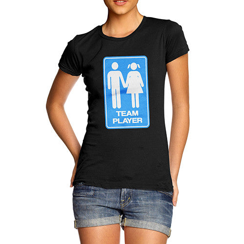 Women's Team Player Funny T-Shirt