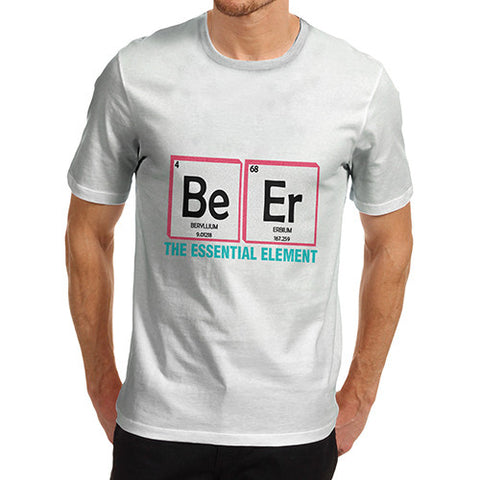 Men's The Essential Element Beer Funny T-Shirt