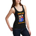 Womens Funny Super Pug Tank Top