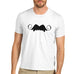 Mens Vampire Moustache T-Shirt