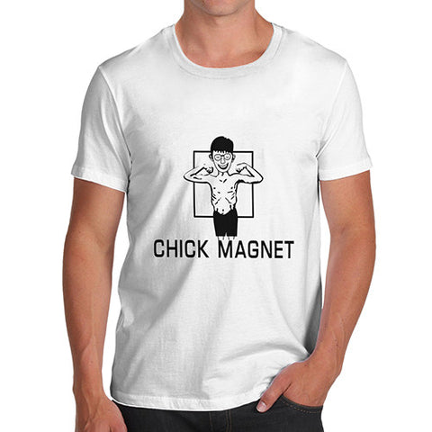 Mens Chick Magnet Funny T-Shirt