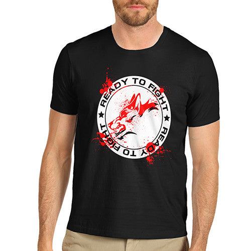Mens Ready To Fight T-Shirt