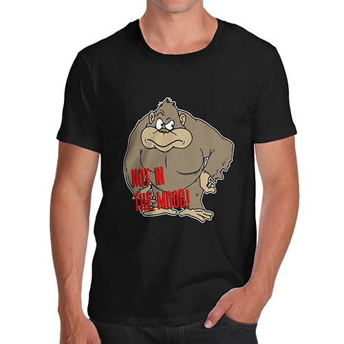 Mens Gorilla Not In The Mood T-Shirt