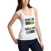Women's Music On World Off Tank Top
