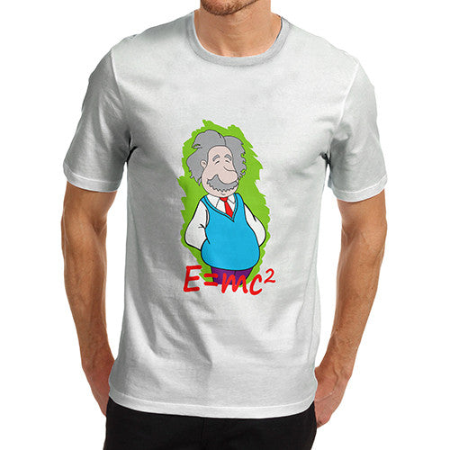 Men's Funny Einstein E=mc2 T-Shirt
