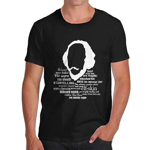 Men's Funny Shakespeare Insults T-Shirt