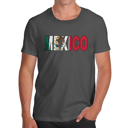 Men's Mexico Flag Football T-Shirt