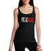 Women's Mexico Flag Football Tank Top