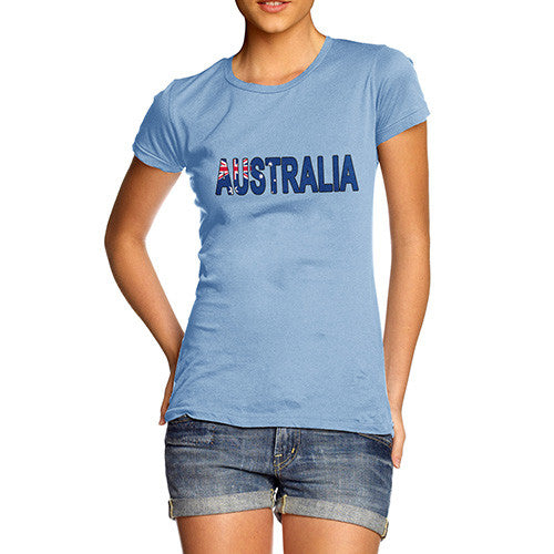 Women's Australia Flag Football T-Shirt