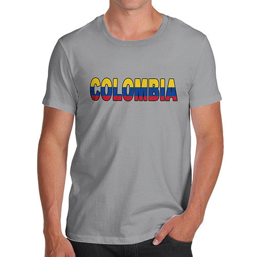 Men's Colombia Flag Football T-Shirt