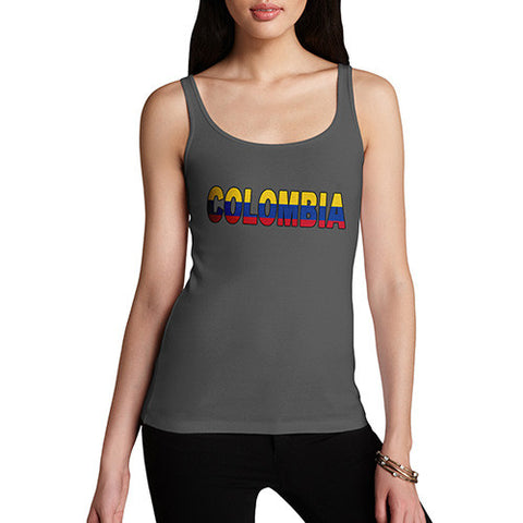 Women's Colombia Flag Football Tank Top