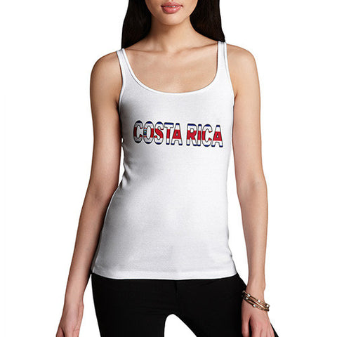 Women's Costa Rica Flag Football Tank Top