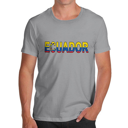 Men's Ecuador Flag Football T-Shirt