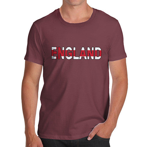 Men's England Flag Football T-Shirt