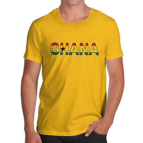 Men's Ghana Flag Football T-Shirt