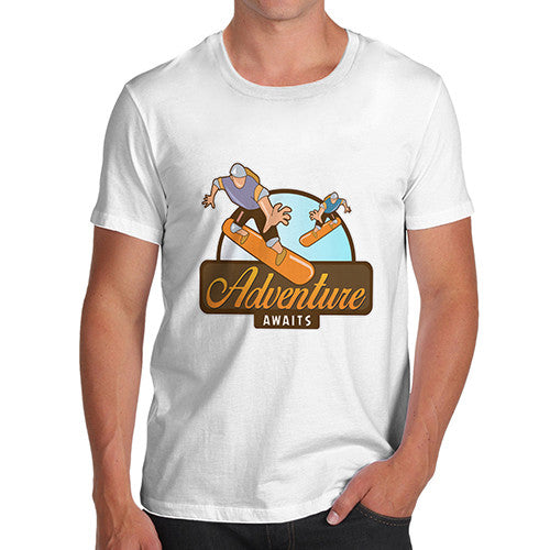 Mens Skateboard Adventure T-Shirt