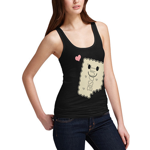 Womens Love Biscuits Tank Top