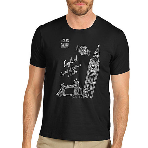 Mens London England Capital Of Culture T-Shirt