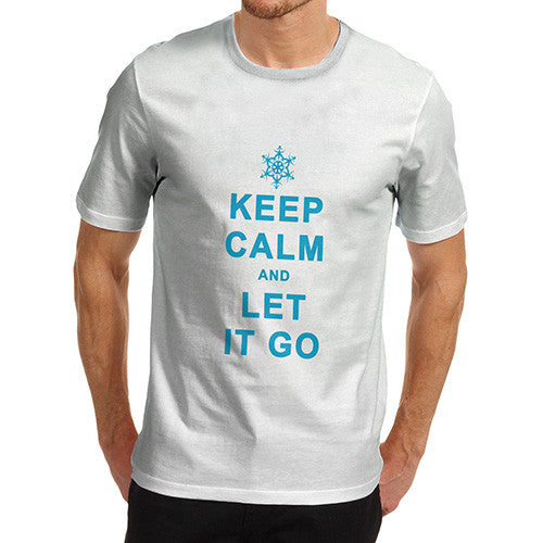 Men's Keep Calm Let It Go T-Shirt
