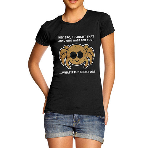 Womens Cool Spider T-Shirt