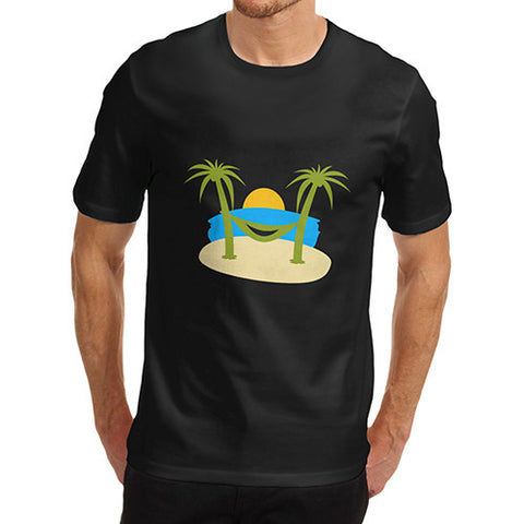 Mens Tropical Island Smile T-Shirt