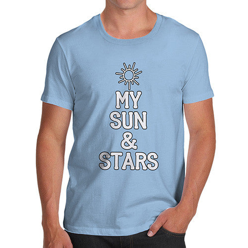 Men's My Sun And Stars Cotton T-Shirt
